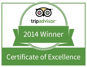 Sorrento Beach Motel Trip Advisor 2014 Certificate of Excellence Winner